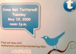 "An invitiation to learn ""how to"" tweet on Twitter"