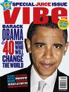 Obama graces the cover of VIBE